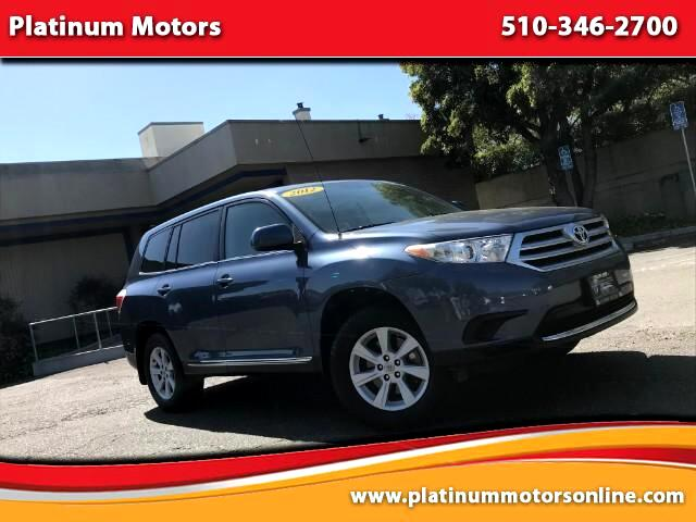2012 Toyota Highlander ~ L@@K ~ Family Size ~ Low Miles ~ We Finance ~ Ca