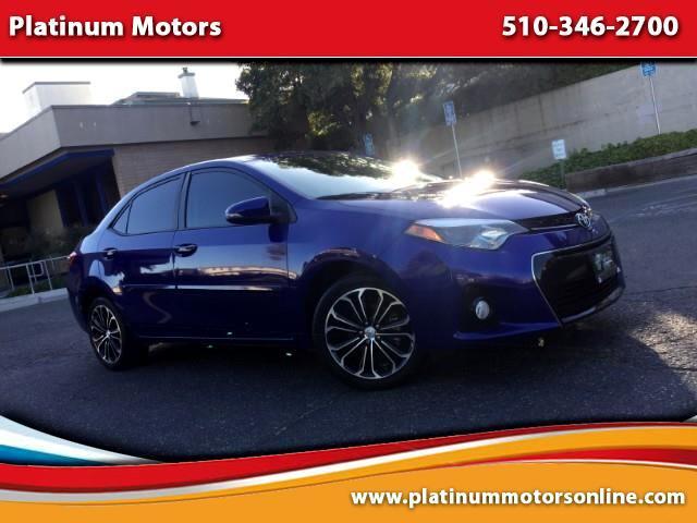 2015 Toyota Corolla S Premium ~ 1 CA Owner ~ We Finance ~ EZ Terms ~ C