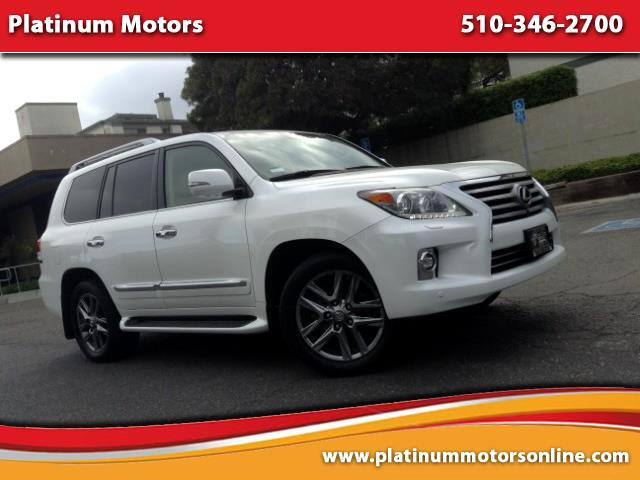 2015 Lexus LX 570 ~ L@@K ~ One CA Owner ~ Luxury SUV ~ Pearl White ~