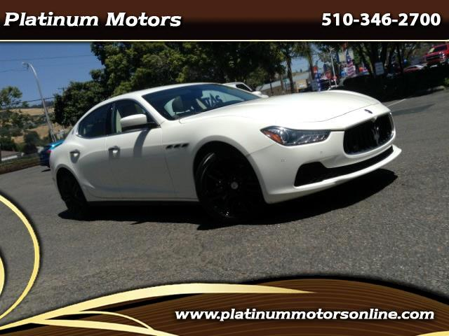 2015 Maserati Ghibli ~ L@@K ~ 1 CA Owner ~ Sport PKG ~ We Finance ~ Cal