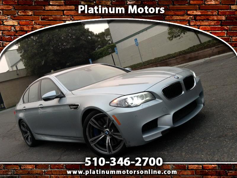2013 BMW M5 ~ L@@K ~ Must SEE ~ Drives Great ~ Carfax History