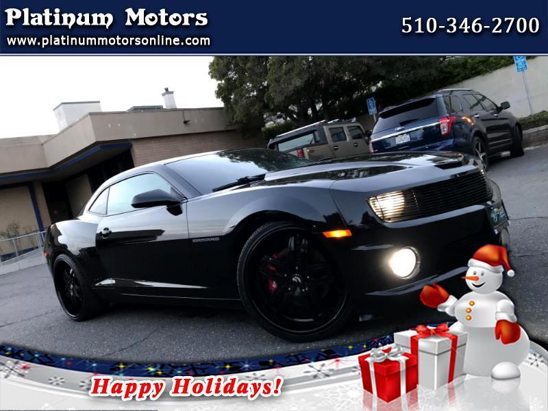 2010 Chevrolet Camaro SS ~ L@@K ~ 6Spd ~ Low Miles ~ BLK/BLK ~ We Financ