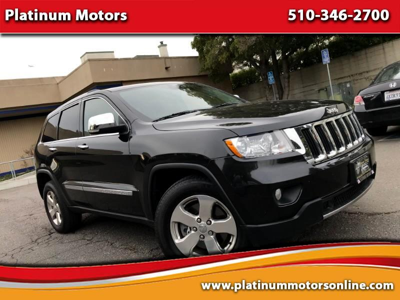 2013 Jeep Grand Cherokee Limited 4WD ~ L@@K ~ Fully Loaded ~ BLK/BLK  ~ We
