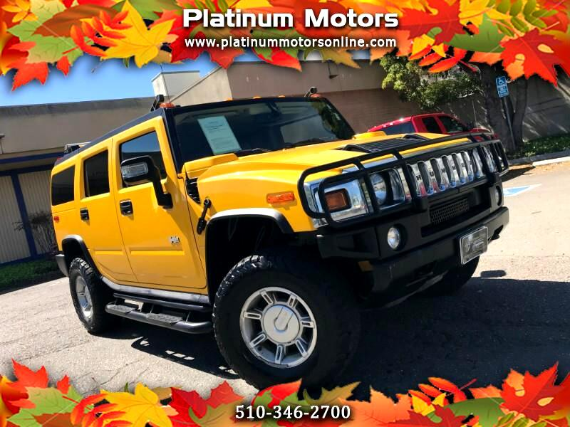 2006 HUMMER H2 ~ L@@K ~ 1 CA Owner ~ Only 66K Miles ~ Yellow/Blac