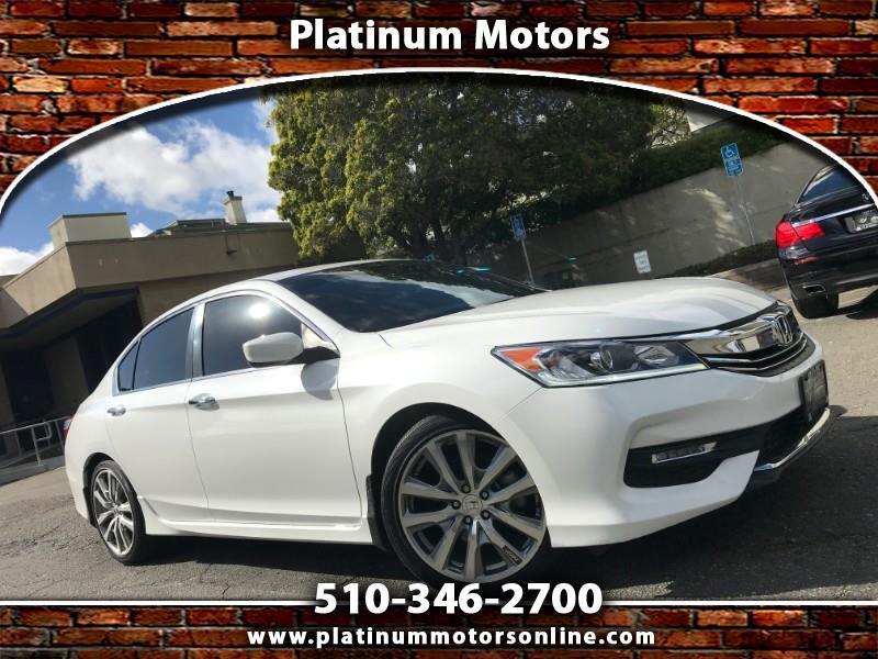 2016 Honda Accord Sport Sedan ~ L@@K ~ 1 CA Owner ~ We Finance ~ Cal