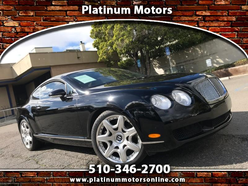 2007 Bentley Continental GT ~ L@@K ~ Only 43K Miles ~ BLK/BLK ~ We Finance ~ C