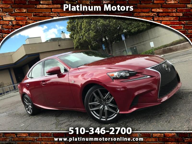 2015 Lexus IS ~ L@@K ~ F Sport ~ 55K Miles ~ Red/BLK ~ We Financ