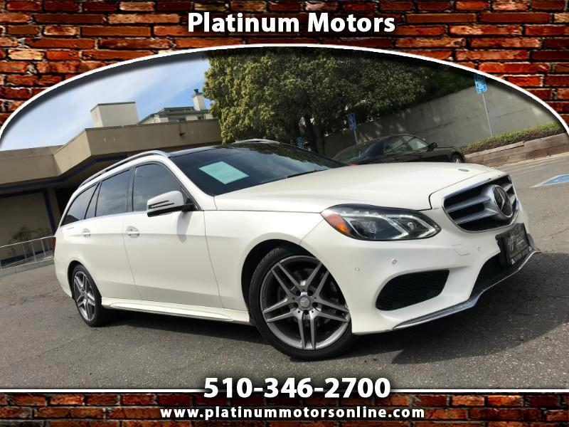 2014 Mercedes-Benz E-Class Wagon E350 ~ AMG Sport ~ White Pearl ~ Pano Roof ~ We Fi