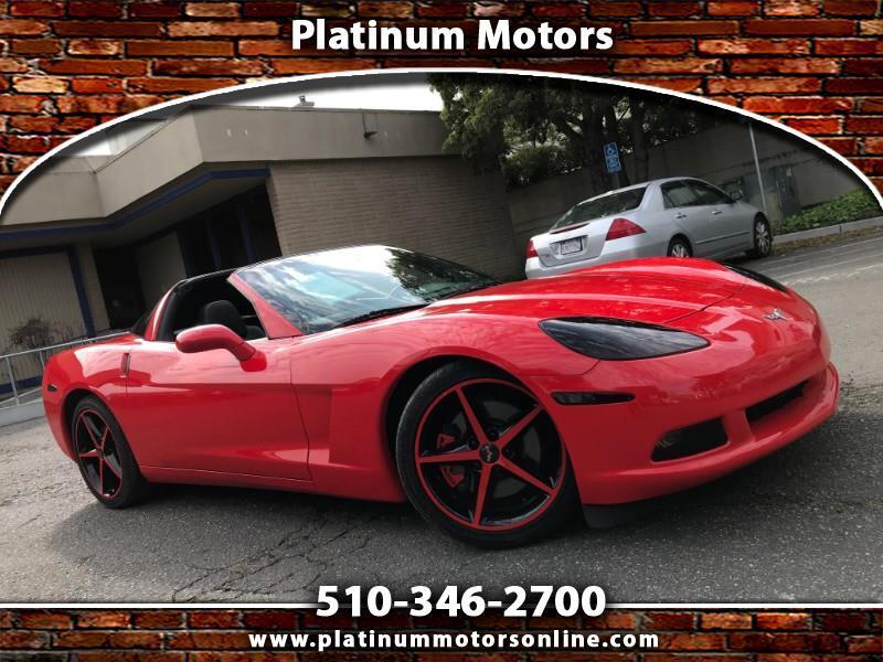 2013 Chevrolet Corvette ~ L@@K~ 6Spd ~ 30K Miles ~ Red/BLK ~ We Finance ~
