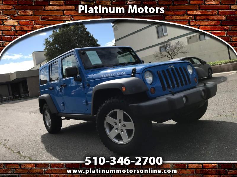 2012 Jeep Wrangler Unlimited Rubicon ~ L@@K ~ Like New ~  Sierra Blue