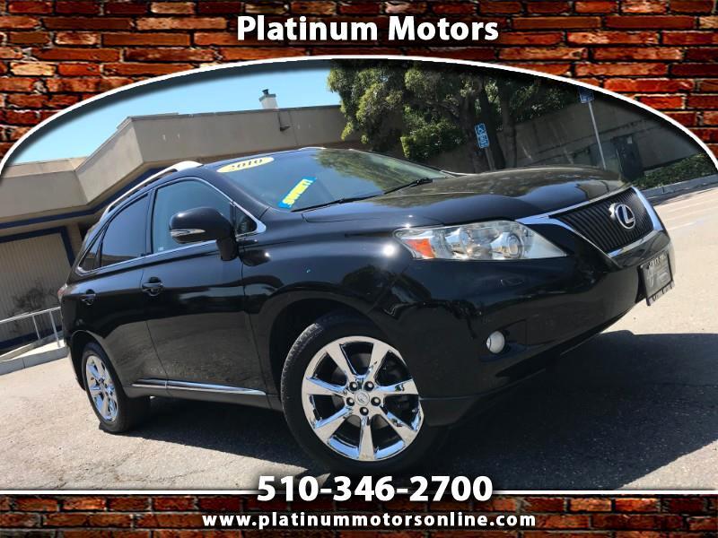 2010 Lexus RX 350 ~ L@@K ~ Fully Loaded ~ BLK/BLK ~ We Finance ~ Cal