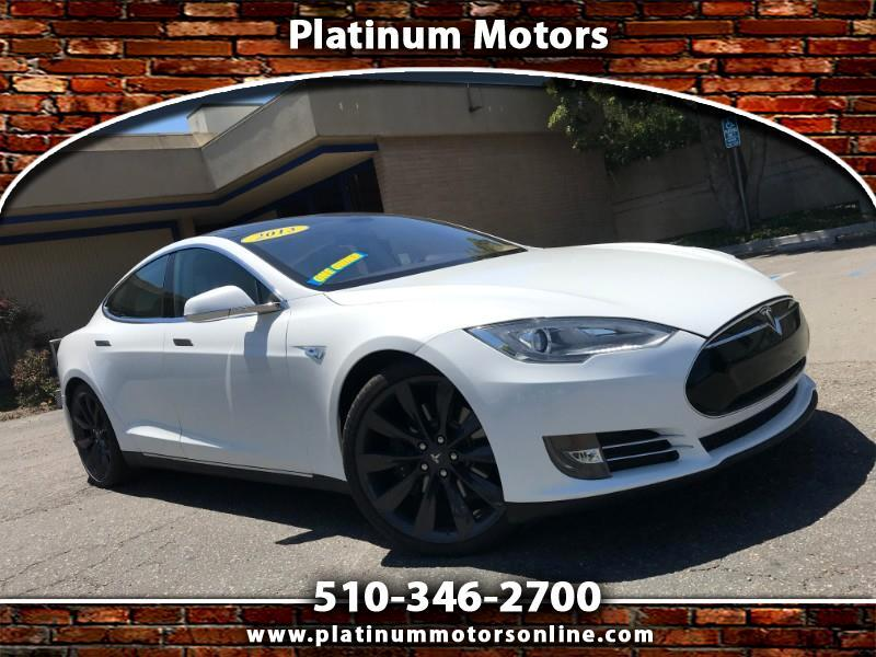 2013 Tesla Model S Preformance P85D ~ 1 CA Owner ~ White/BLK ~ Call U