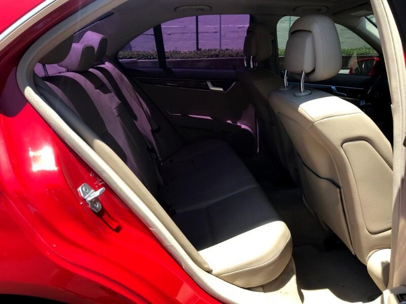 2013 Mercedes-Benz C-Class C250 Sport ~ L@@K ~ Mars Red ~ EZ Finance ~ AMG PK
