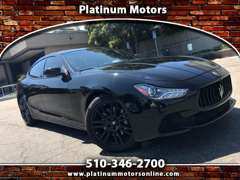 2014 Maserati Ghibli S ~ L@@K ~ What A Car ~ BLK/BLK ~ Sport PKG ~ We F