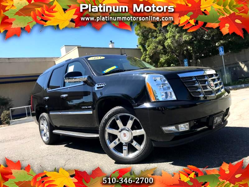 2011 Cadillac Escalade ~ L@@K ~ One CA Owner ~ 53K Miles ~ BLK/BLK ~ We F