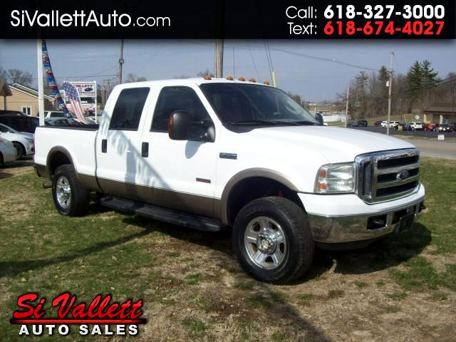 2006 Ford F-250 SD Lariet Crew Cab Short Bed 4X4