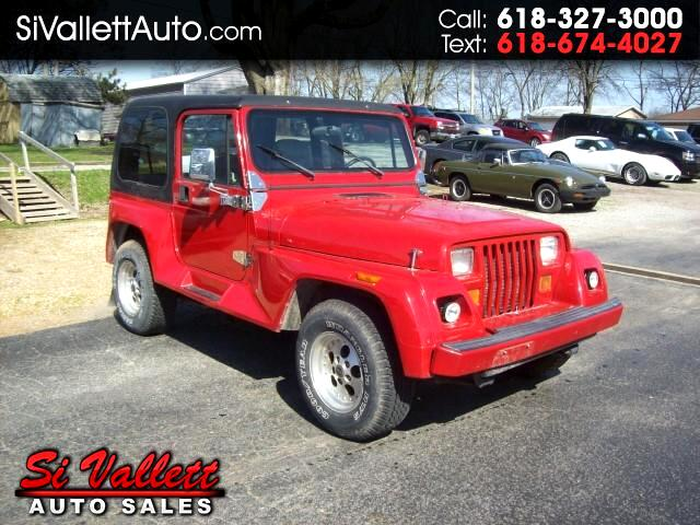 used 1994 jeep wrangler renegade for sale in st louis mo 63101 si vallett auto sales. Black Bedroom Furniture Sets. Home Design Ideas