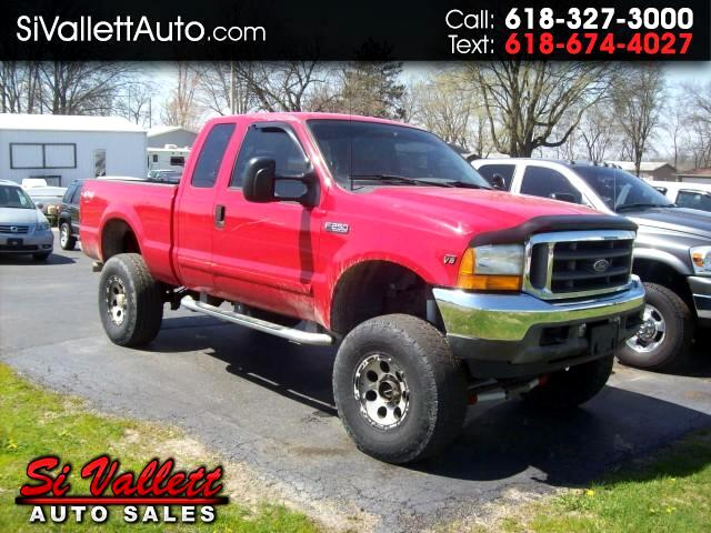 2001 Ford F-250 SD XLT Ex Cab Short Bed 4X4