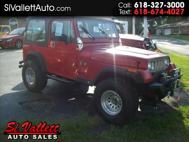 1990 Jeep Wrangler SE