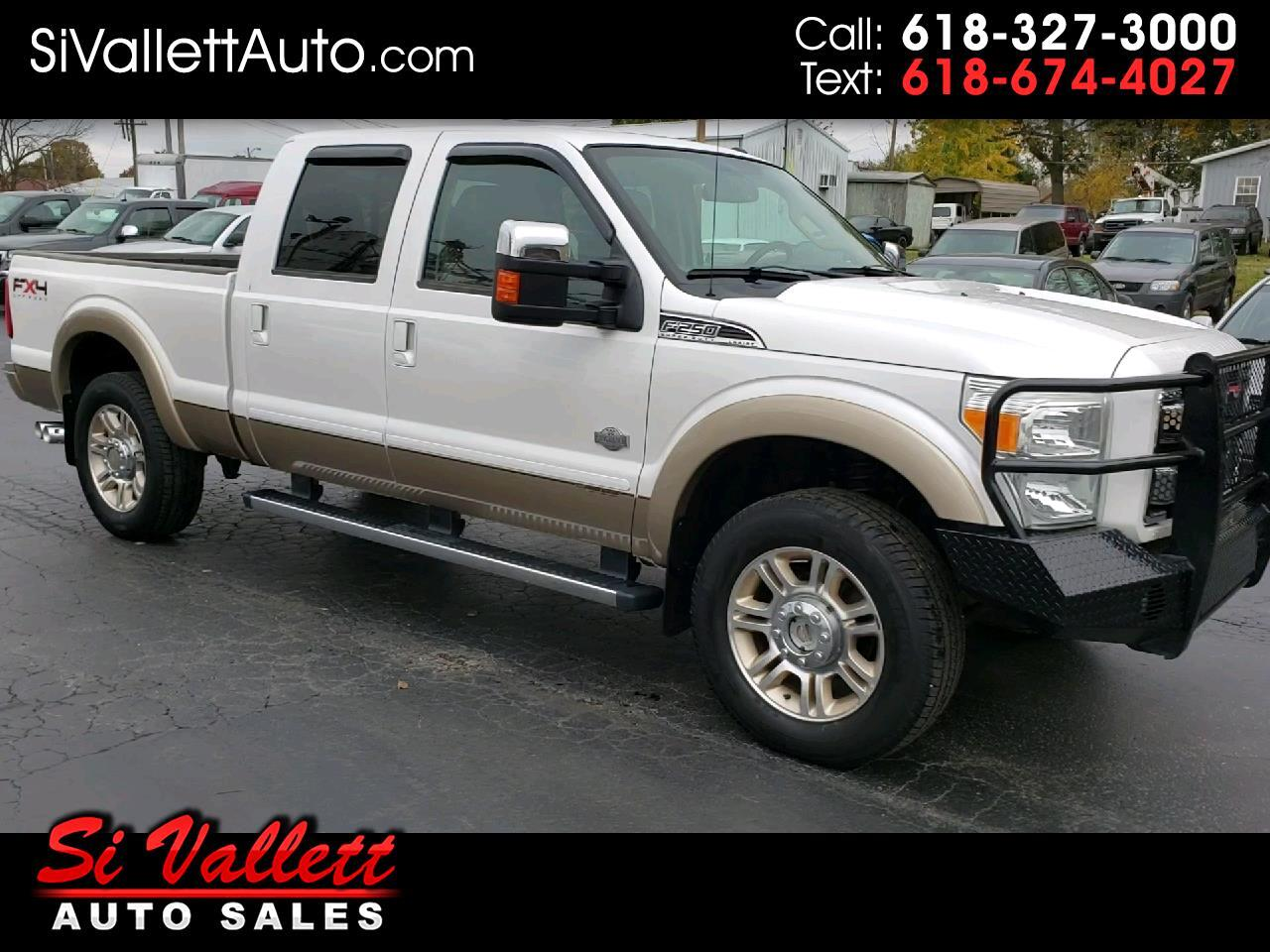 2011 Ford Super Duty F-250 SRW Crew Cab 4X4 Shortbed