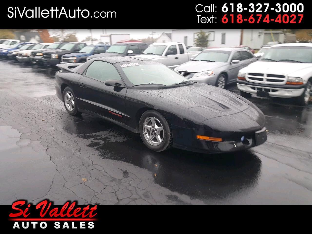 1996 Pontiac Firebird 2dr Cpe Trans Am
