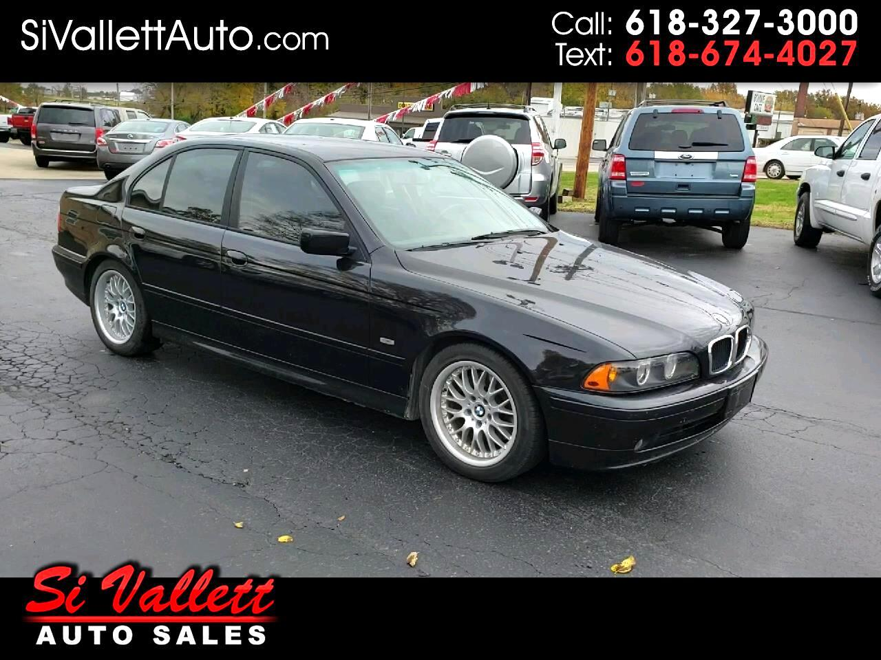 2001 BMW 5 Series 530i 4dr Sdn 5-Spd Manual