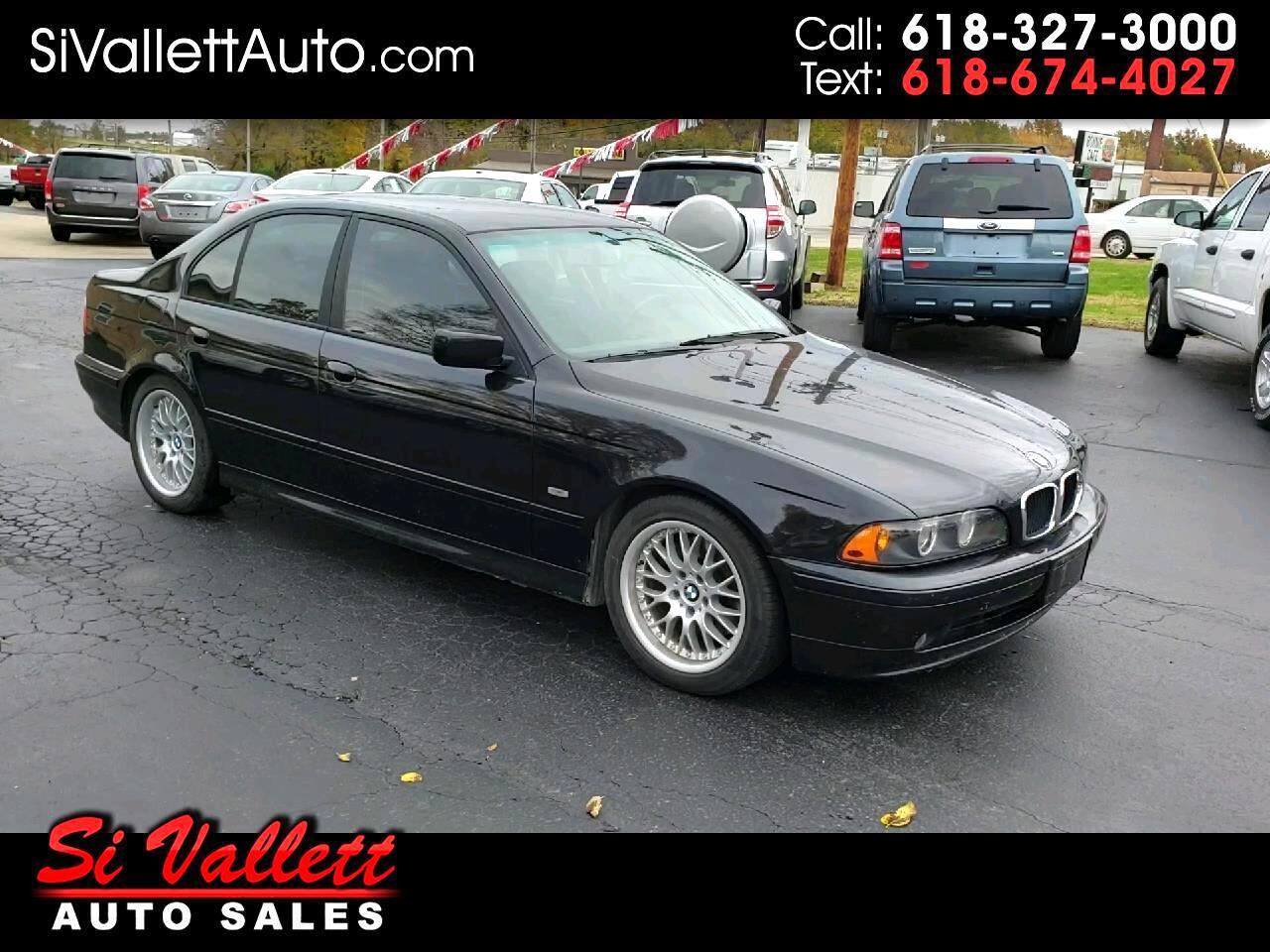 2001 BMW 5 Series 530i 4dr Sdn 5-Spd Manual
