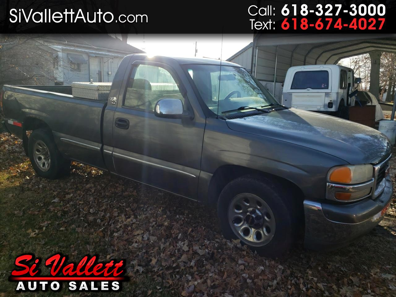 2000 GMC New Sierra 1500 Reg Cab 133.0