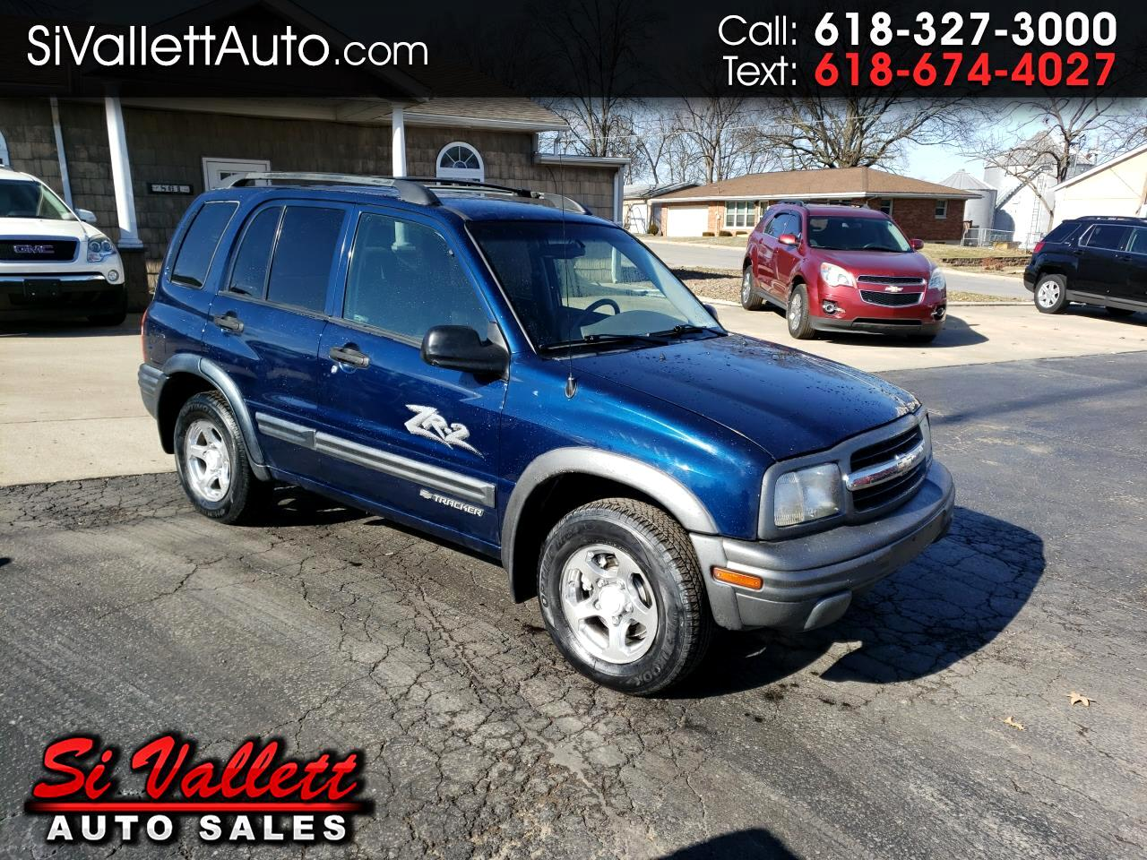 2003 Chevrolet Tracker 4dr Hardtop 4WD ZR2