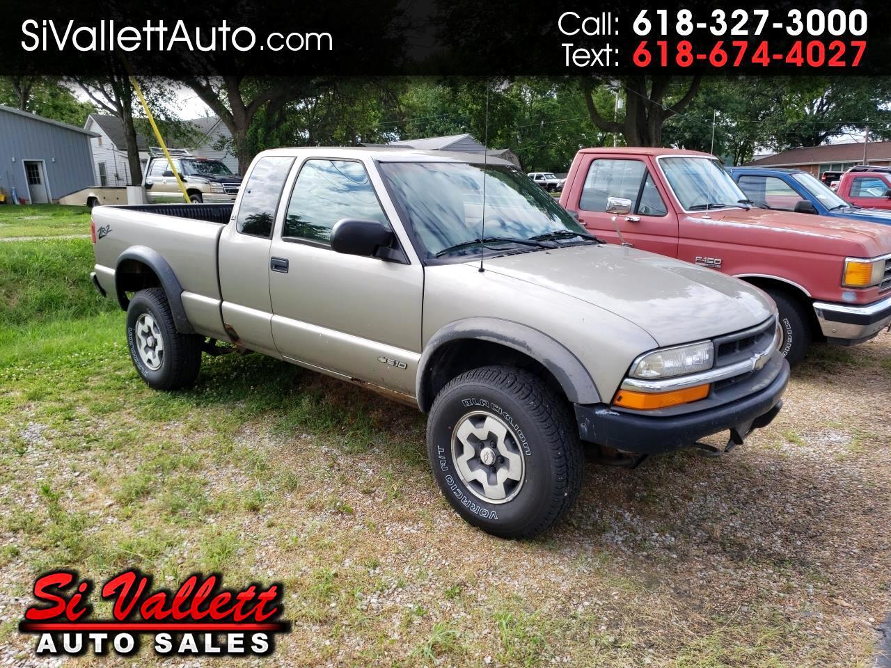 "Chevrolet S-10 Ext Cab 123"" WB 4WD LS w/ZR2 2000"