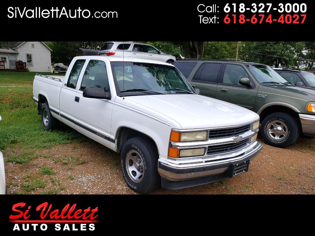 "Chevrolet C/K 1500 Ext Cab 141.5"" WB 1996"