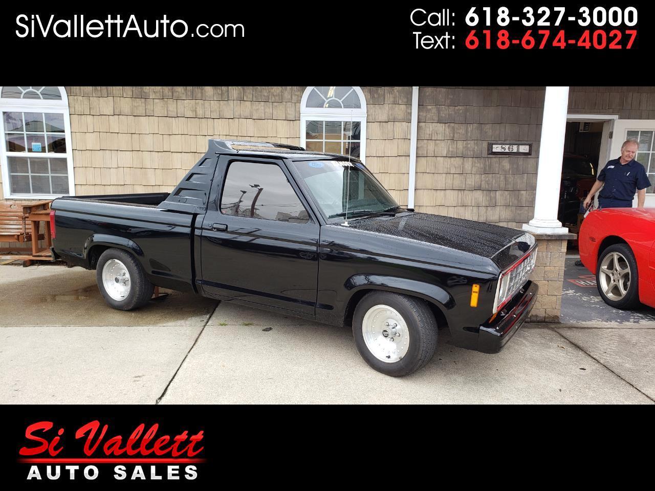 """Ford Ranger Pickup Styleside 108"""" WB 1984"""