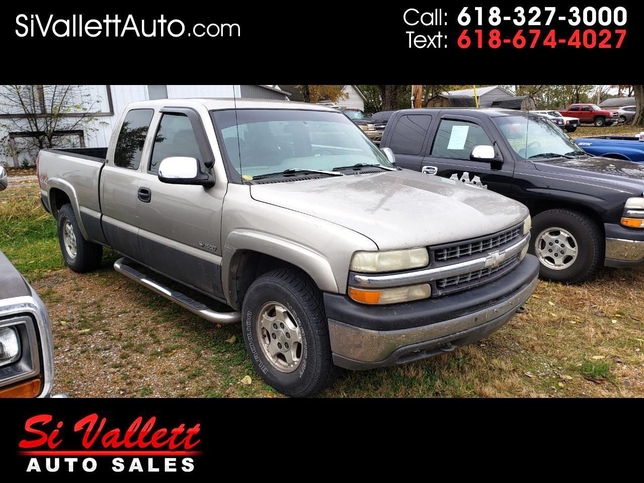 "Chevrolet Silverado 1500 Ext Cab 143.5"" WB 4WD LT 1999"