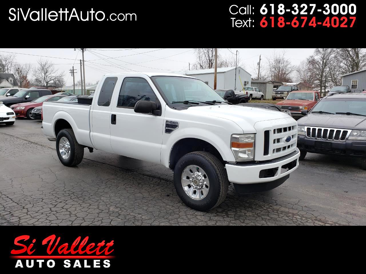 "Ford Super Duty F-250 SRW 4WD SuperCab 142"" XL 2008"