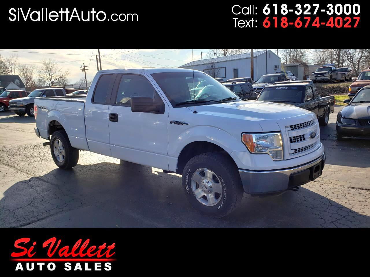 "Ford F-150 4WD SuperCab 145"" Lariat 2014"