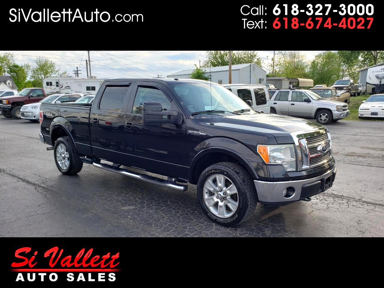 "Ford F-150 2WD SuperCrew 139"" Lariat 2010"