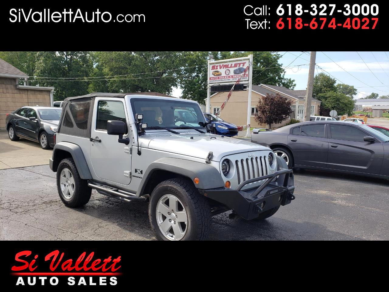 Jeep Wrangler 4WD 2dr X 2007