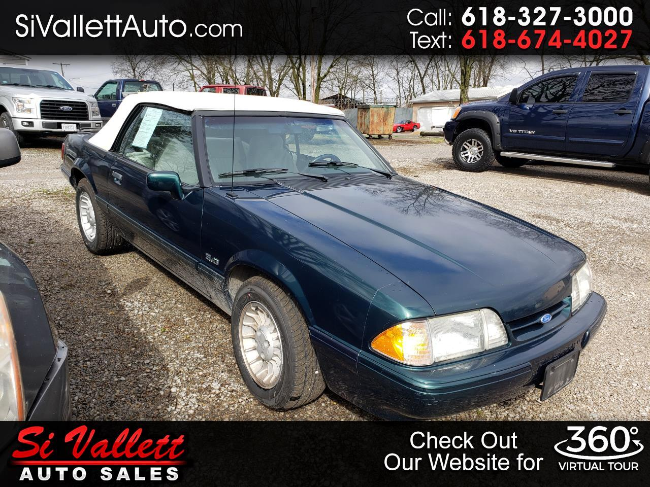 Ford Mustang 2dr Convertible LX Sport 5.0L 1990