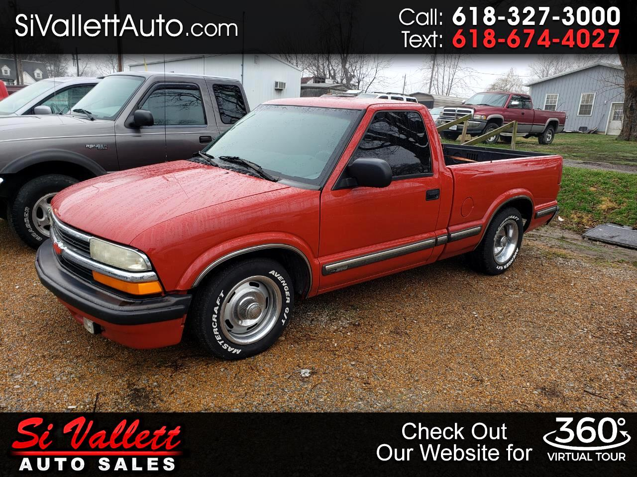 Chevrolet S10 Pickup Short Bed 2WD 1999