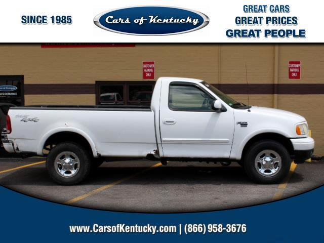 2001 Ford F-150 XLT Long Bed 4WD