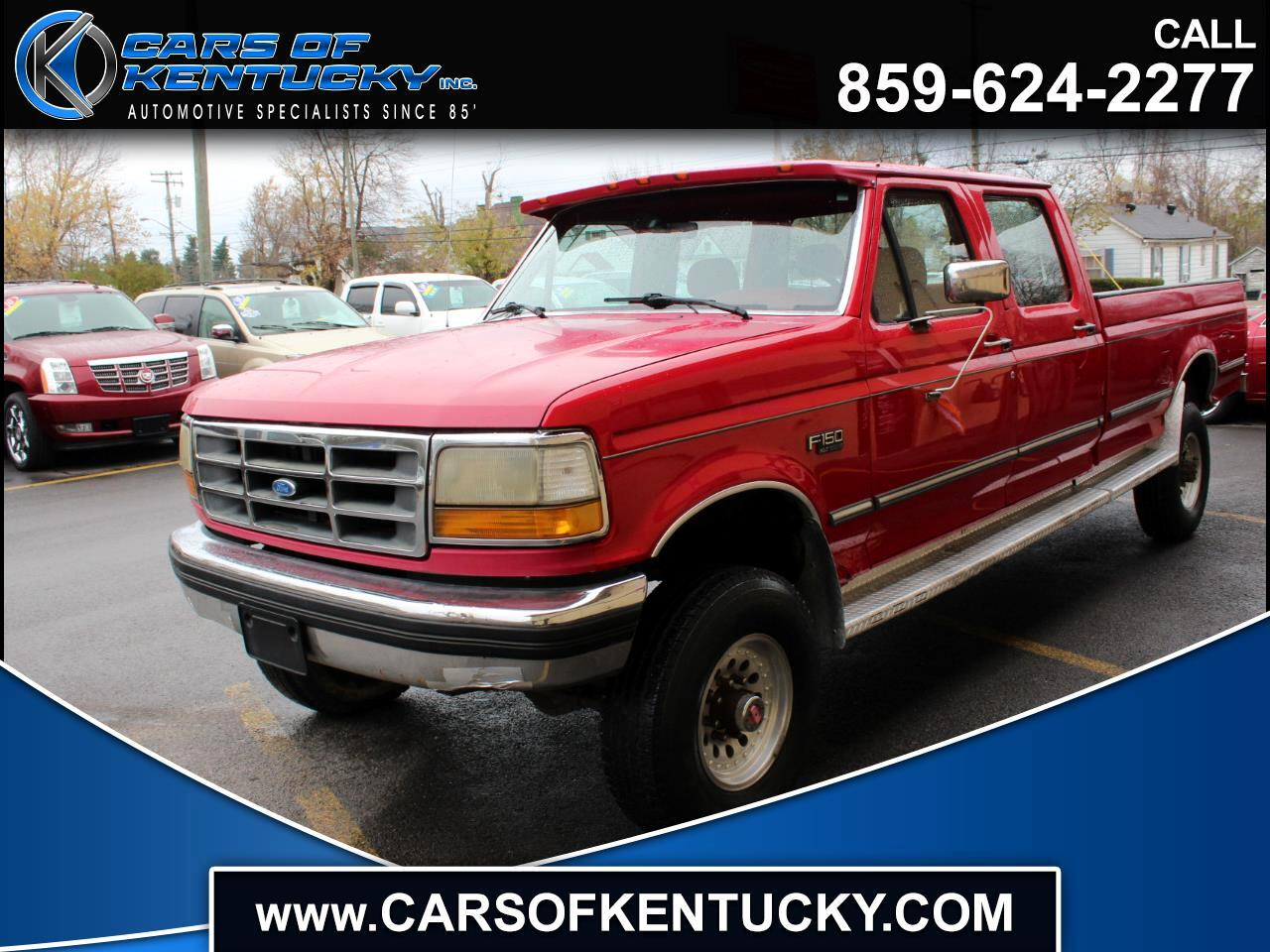 1992 Ford F-350 Crew Cab 4WD