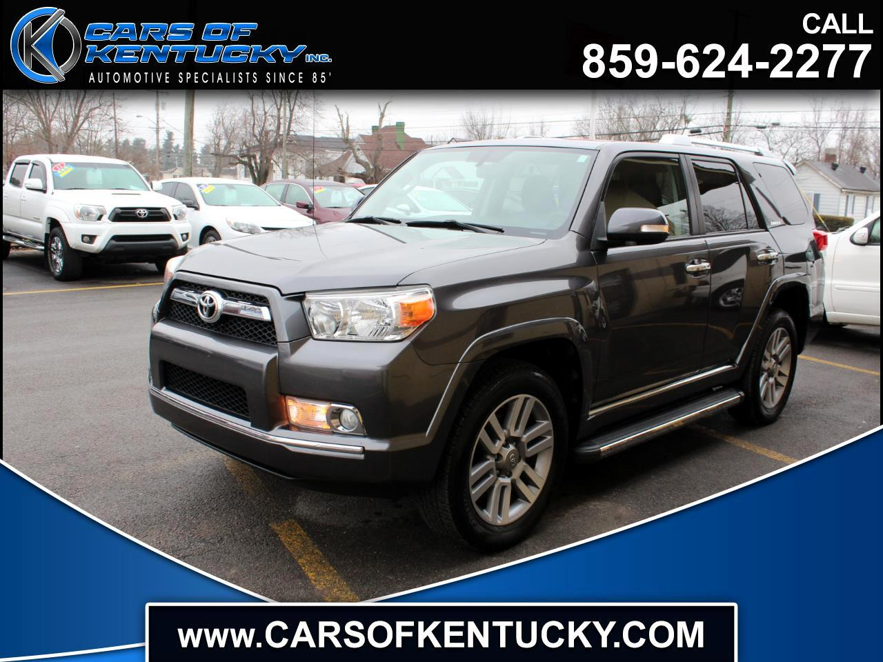2011 Toyota 4Runner 4dr Limited 3.4L Auto 4WD