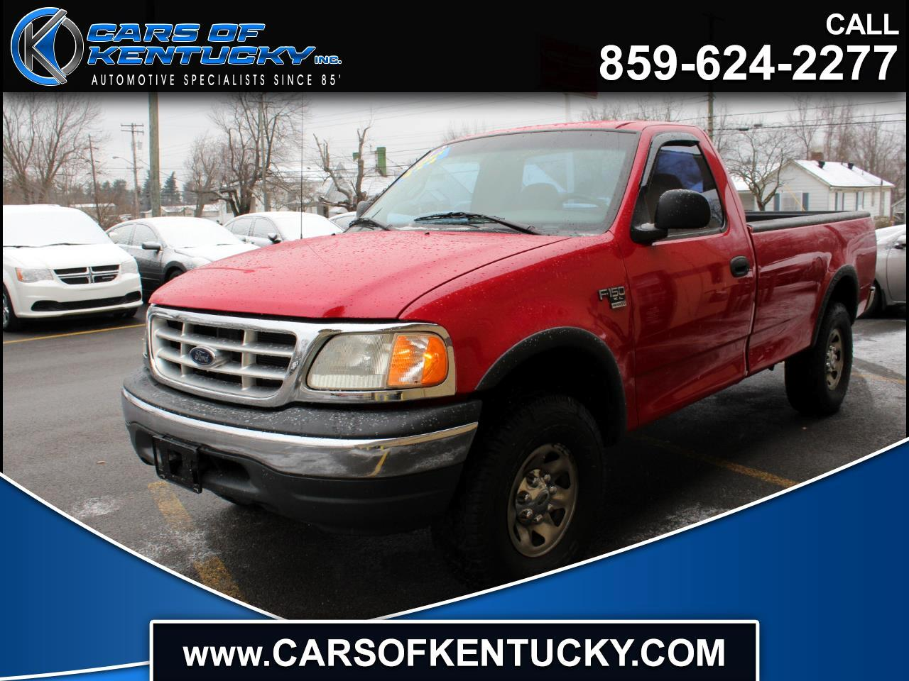 2001 Ford F-150 XL Long Bed 4WD