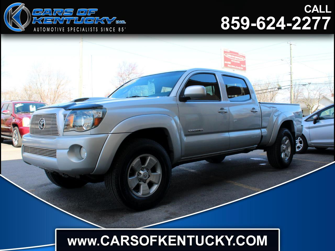 2009 Toyota Tacoma 4WD Double Cab V6 AT TRD Sport (Natl)