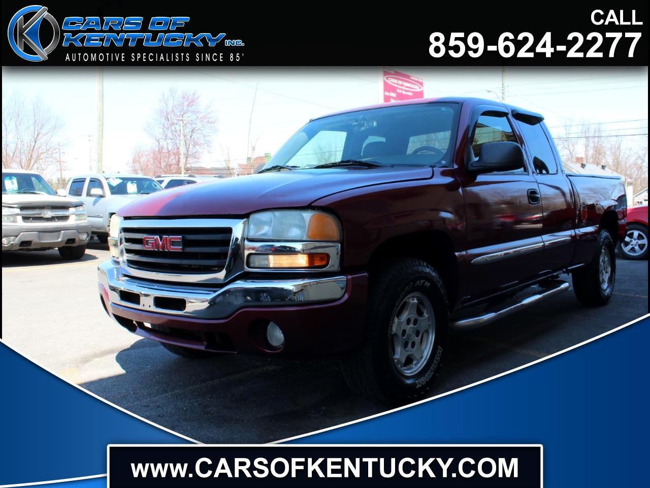 2004 GMC Sierra 1500 Ext. Cab Short Bed 4WD