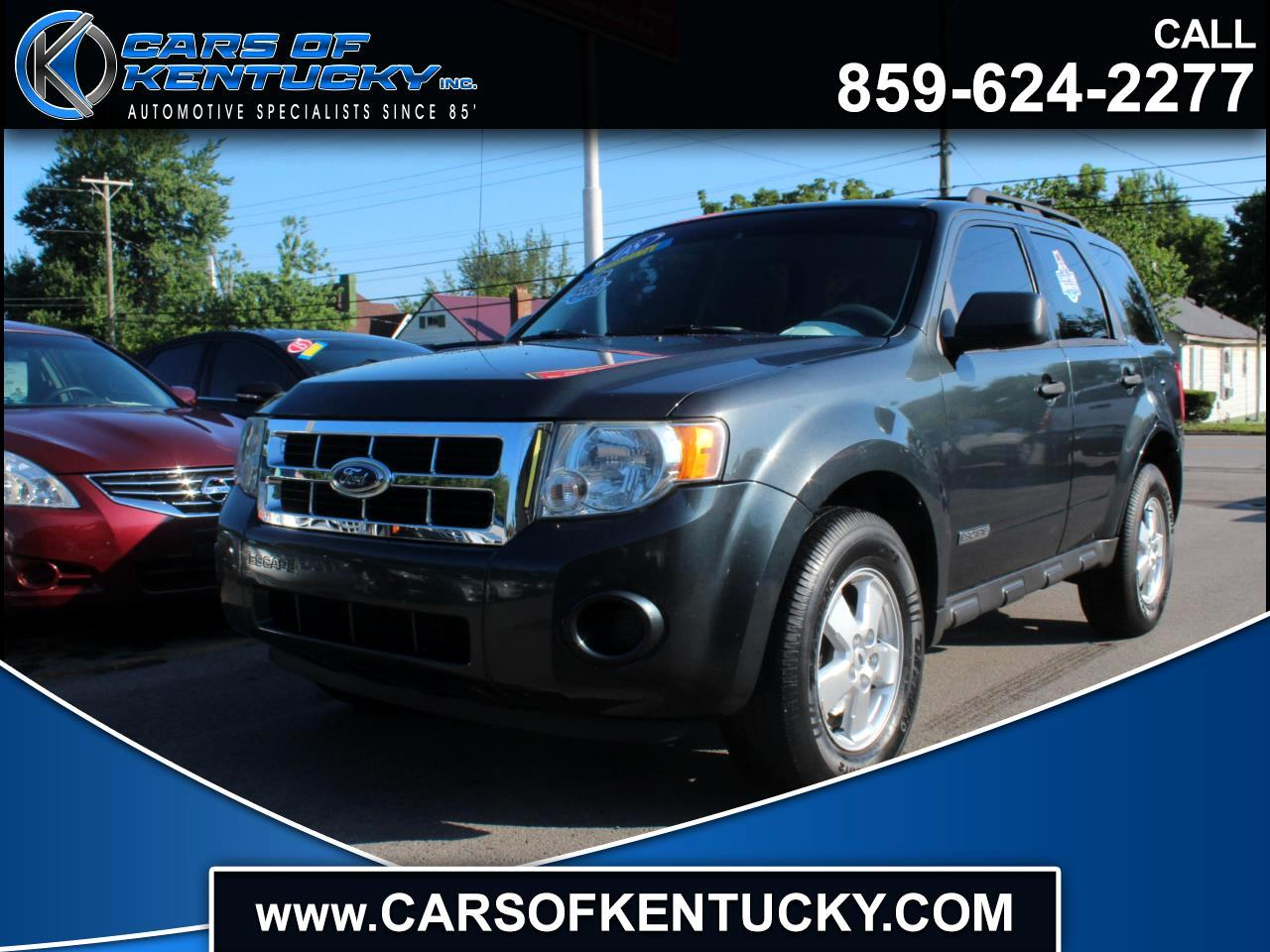 2008 Ford Escape XLS 2WD Manual