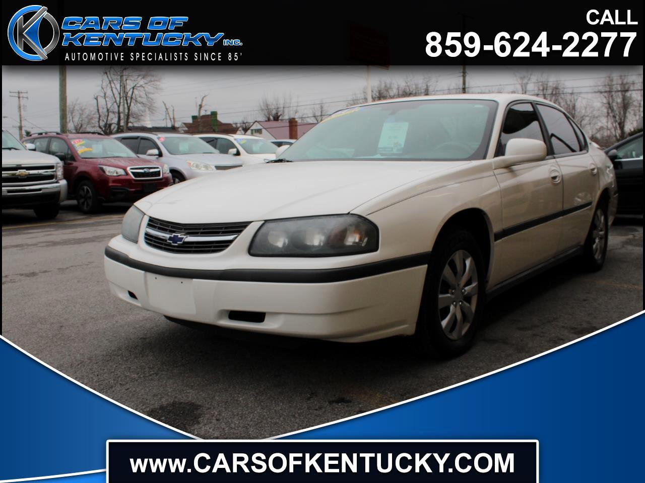 Chevrolet Impala Base 2004
