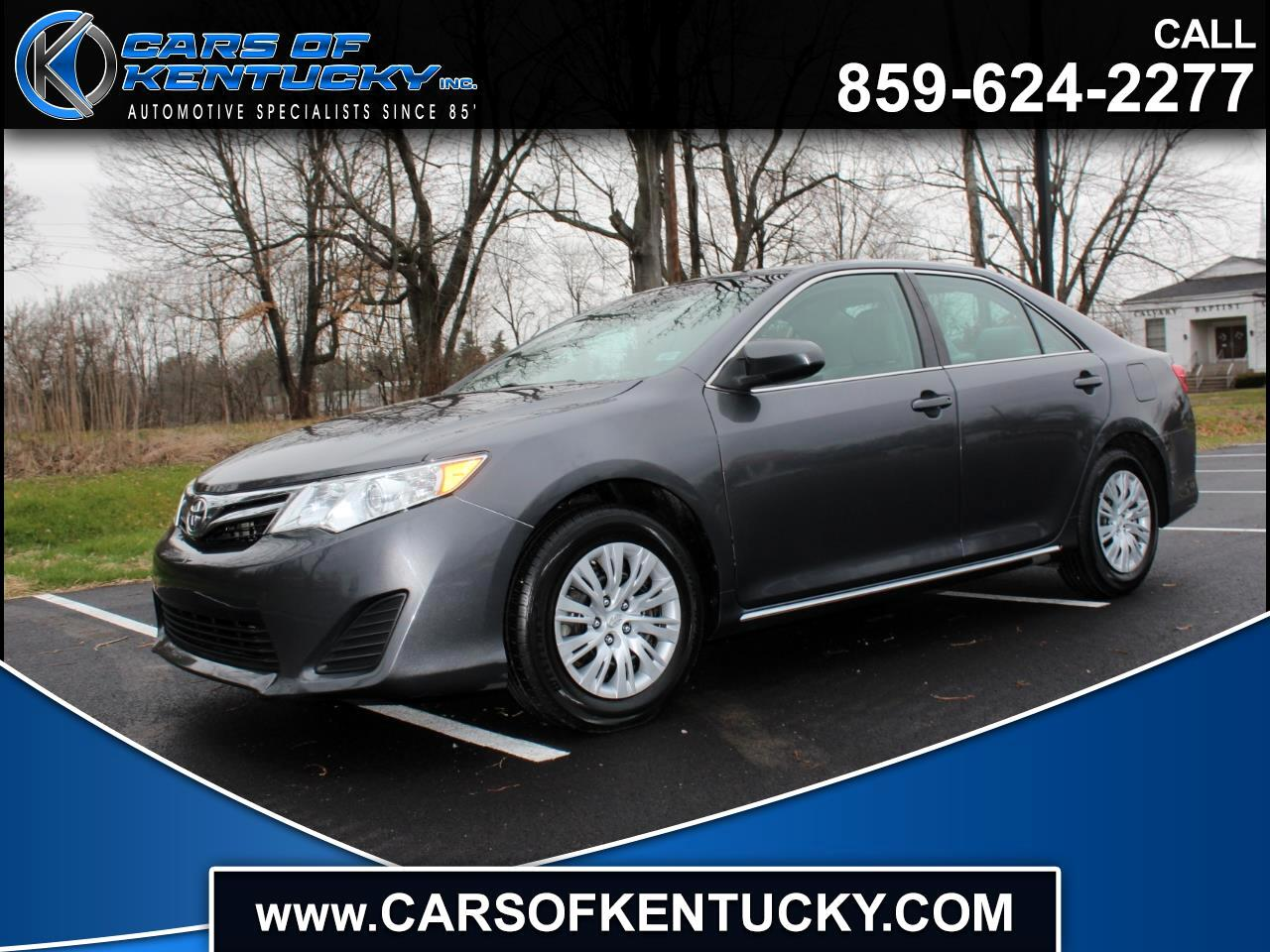 Toyota Camry 2014.5 4dr Sdn I4 Auto LE (Natl) 2012