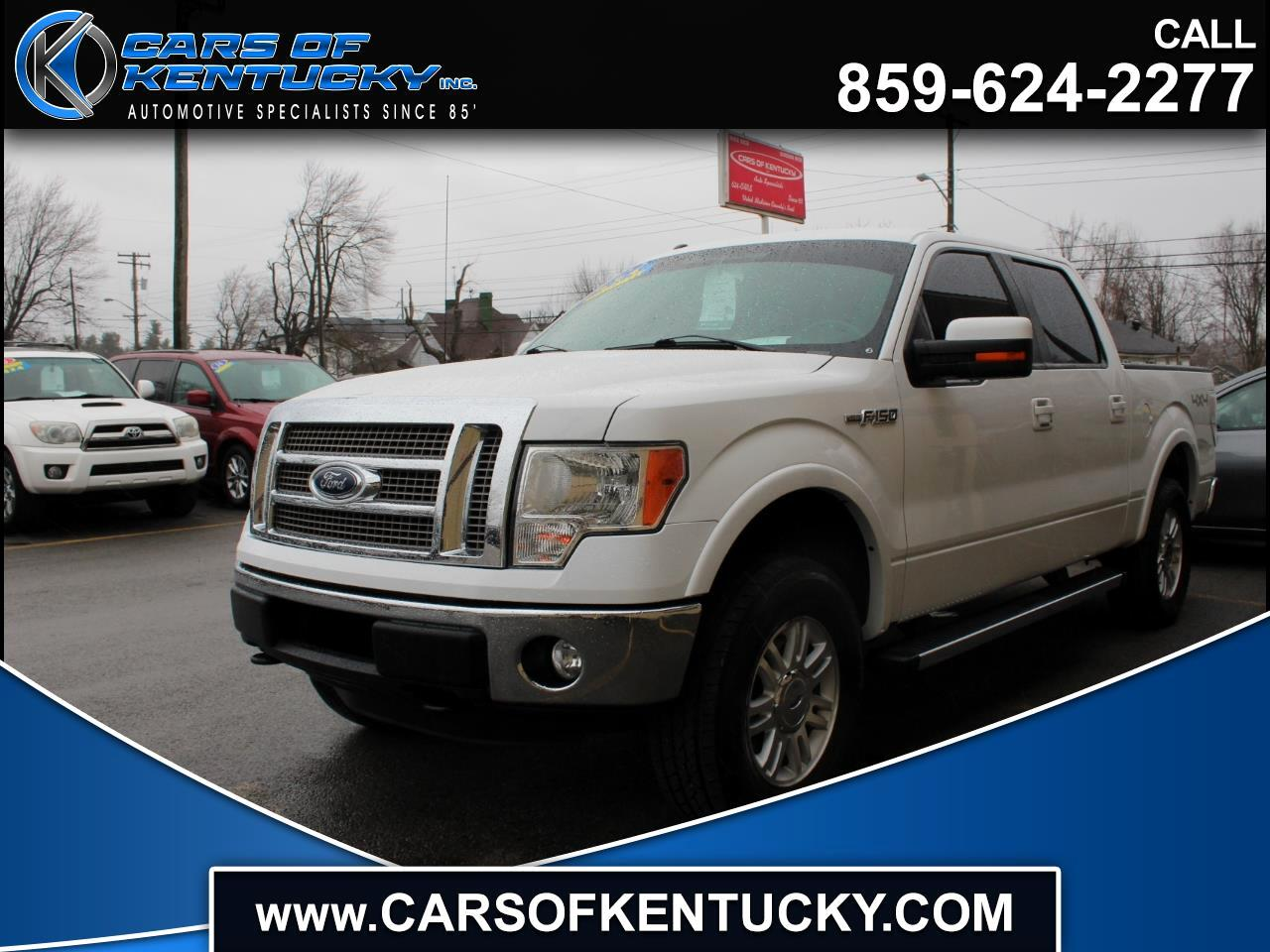 """Ford F-150 4WD SuperCab 163"""" Lariat 2012"""