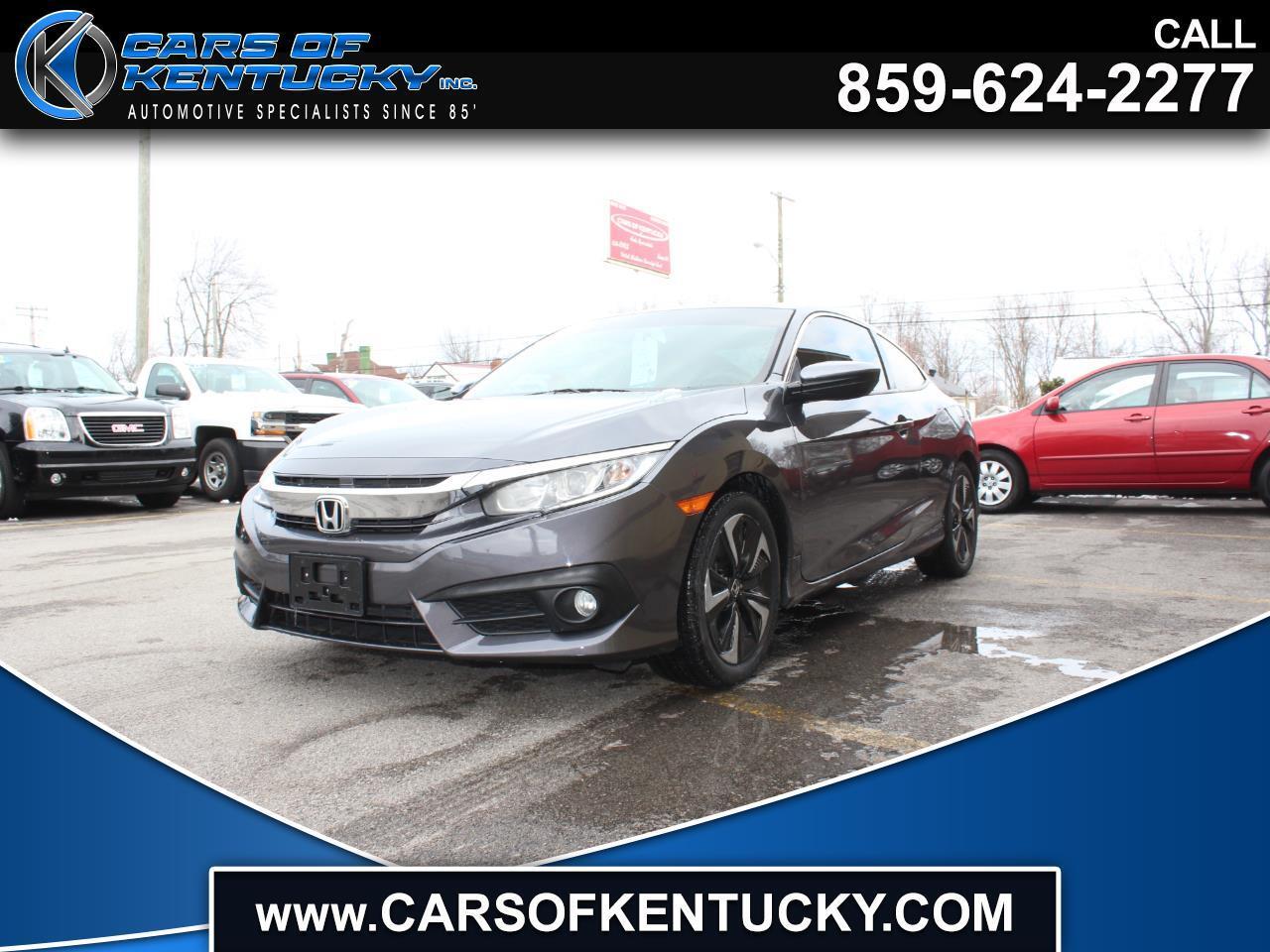 Honda Civic EX-T Coupe CVT 2016